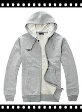 Fashion cheap fleece jacket/fleece hoodie/the fleece clothing