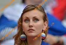 2016 Euro cup world cup football fan flower horn