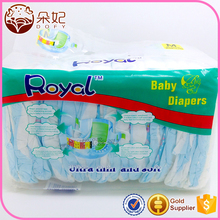 China Hot product non woven fabric Material disposable sleepy baby diaper