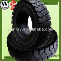 China 11.00-20 heavy duty truck rubber solid tires for sale, solid rubber tires