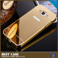wholesale mobile phone back cover for samsung j7 mirror case