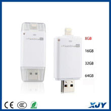 XINJIAYE USB Flash Drive 8-64GB Device U Disk With Extra USB Memory Storage For Mobile Phone