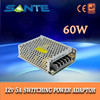 Portable AC to DC 12V switching power supply with single output