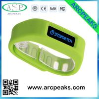 High quality monitor pedometer wristband watch with Ultra-long standby time