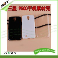 OEM service black white clear 3d sublimation phone case for Samsung Galaxy s4, blank phone case