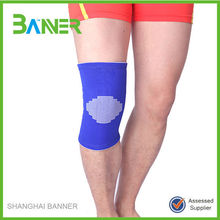 Breathable sports brace protective knitted elastic knee support