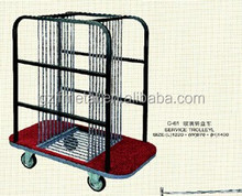 glass table trolley