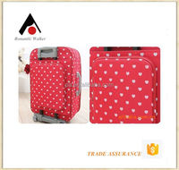 girls use trolley luggage four wheels EVA luggage cases
