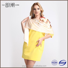 2014 Vintage Style New Fashion Beautiful Printing Silk Scarf