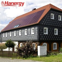 Hanergy 1.5kw home solar system for flat roof
