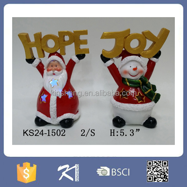 Happy Santa Snowman Led Funny Christmas Crafts For Gifts - Buy Funny Christma...