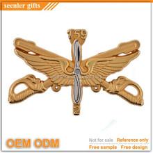custom design 3D die struck cut out navy lapel pin