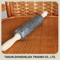 2015 New style hot selling decorative &noodle rolling pins/stone rolling pin
