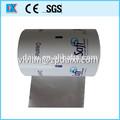 laminado de embalaje de la mantequilla de papel de aluminio