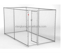 Lucky Dog Chain-Link 5' x 10' Box Kennel