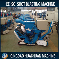 Large steel bridge floor shot blasting machine/shot blaster for sale
