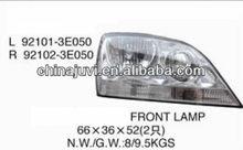 High Quality/cheap halogen Auto head lamp crystal for KIA SORENTO