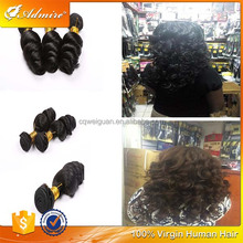 Good Quality 100% Unprocessed Virgin Raw Remy Peruvian Hair at Factory Price