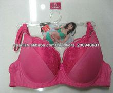 rosa color lindo girls sujetador
