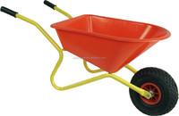 children Palastic garden cart; kids plastic wheel barrow