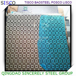 1.4571 decorative ss sheet plate price with free sample