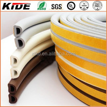 D shaped sponge rubber protective seal strip window seal
