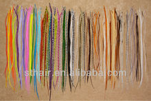 cheap grizzly feathers/ feather hair extension/ bulk feather hair extension