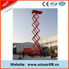 Mobile electro hydraulic scissor lift with Factory selling