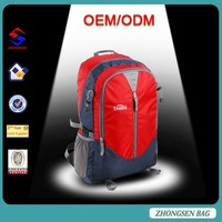 Super Lightweight nylon camping sport backpack bag China backpack bags factories sport bag with rain cover