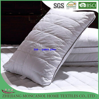 Ball filling Quilted pillow with piping