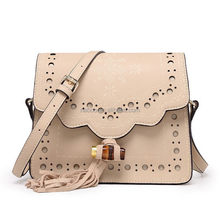 Design affordable leather handbags/leather long strap handbag/genuine leather handbag for girls