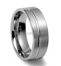 Wholesale Fashion Men's Tungsten Rotating Gear Ring
