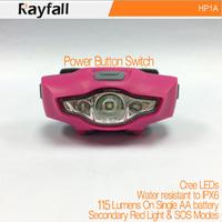Trade assurance light weight high power led headlamp for hiking