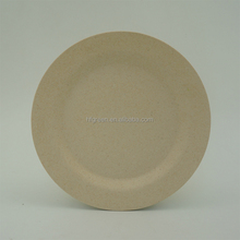 Eco friendly reusable bamboo fiber plates