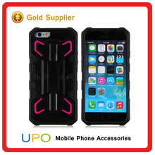 New Products Rugged Armor Combo Hybrid Case Cover Kickstand Protect Case phone cover for iphone 6