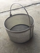 Rectangular Stainless Steel Wire Mesh Basket