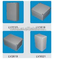 high quality junction box brushed aluminum box