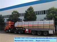 large capacity oil tanker trailer fuel tanks for gas station 50m3 tank