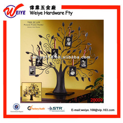 Bronze Family Tree Picture Frame 6 Hanging Funny Photo Frames