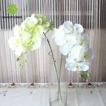 Atacado vasos de orquídeas casamento decoração portão uso de seda flor da orquídea