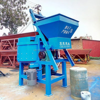 Electric portable beton mixer with stand and steel / cast iron drum