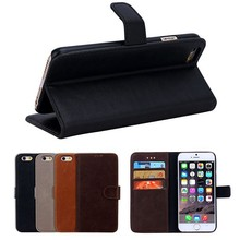 BRG High Quality Elegant Leather for iPhone 6 Case ,Luxury PU Leather Case for iPhone 6