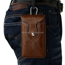 Outdoor Cycling Sports Running Camping Wrist Pouch, Leather Cell Phone Bag ourdoor for Mobile Phone Leather Pouch Bag