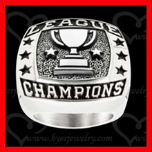 league championship ring trophy engraved deeply