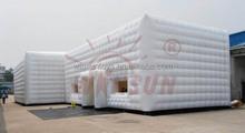 Inflável tenda dome ar estrutura estruturas infláveis construção