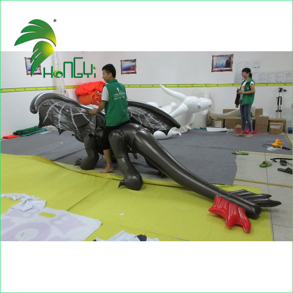 inflatable toothless dragon costume (8)