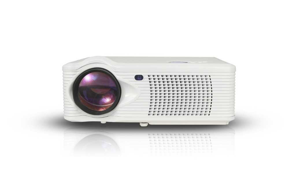 2015hotsell outdoor high lumens led projector wireless for Small projector with high lumens