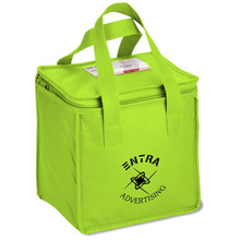 Customized reusable non woven material aluminum foil lining fitness cooler lunch bag