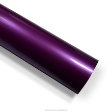 Air bubble protection gloss Tropical Purple candy car film for auto body sticker