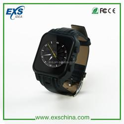 GPS + WIFI + 3MP Camera smart watch G-Sensor,Gyroscop,E-Compass android smart watch phone manufacturer